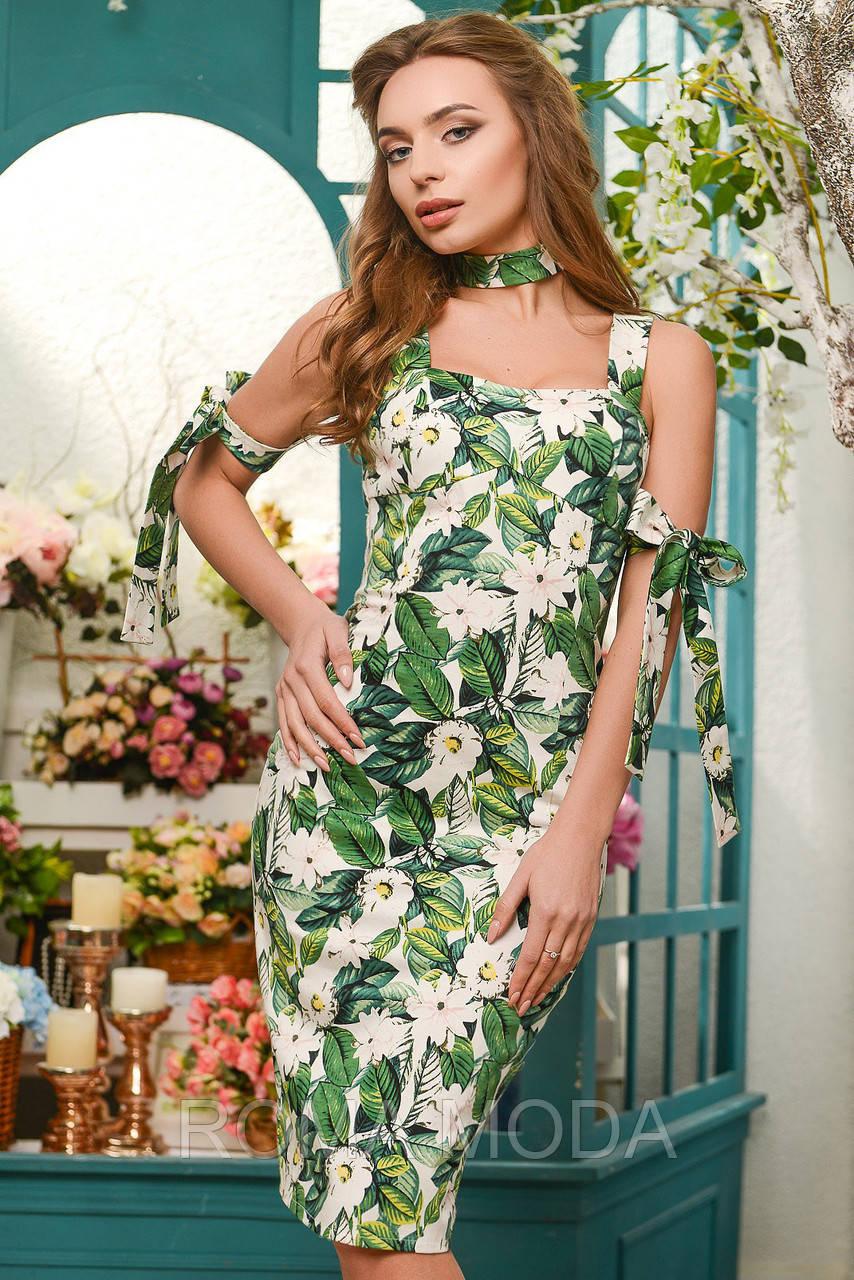 Платье женское красивое по фигуре KP-5934-12