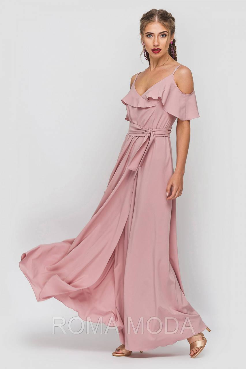 Красивое женское платье длинное TD 1603