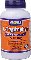 Триптофан / NOW - L-Tryptophan 500mg (60 caps)
