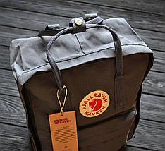 Рюкзак реплика Fjallraven Kanken тёмно-серый / новинка 2018 , фото 2