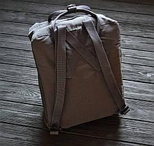 Рюкзак реплика Fjallraven Kanken тёмно-серый / новинка 2018 , фото 3