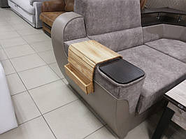 Накладки на диван из натурального дерева