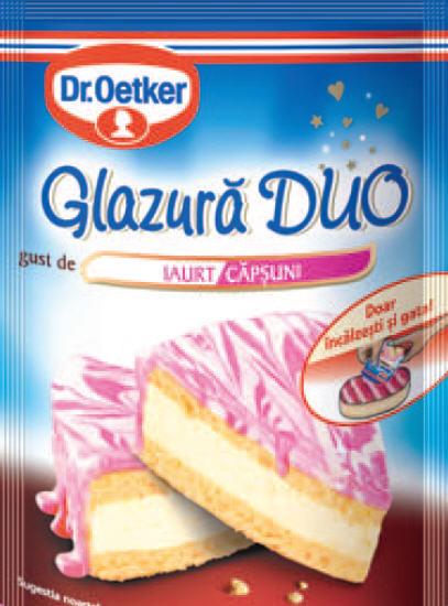 Глазурь йогурт-клубника  Др.Откер 100г.(код 03364)
