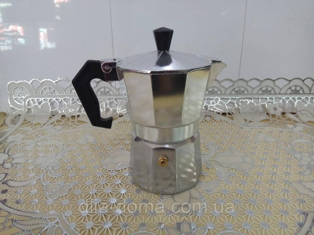 Кофеварка алюминивая