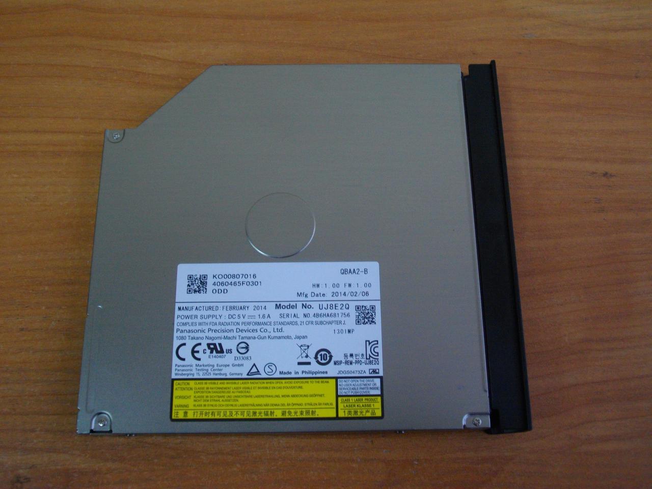 Дисковод, оптический привод DVD CD RW Gateway MS2370, NE522, NE52224u