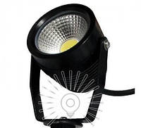 Светильник LED садовый светодиодный 1LED 5W 6500K чёрный / LM982
