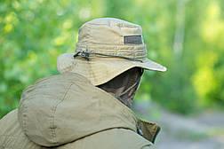 """Панама """"OUTDOOR"""" с защитой шеи, Olive, саржа 100% х\б, фото 2"""