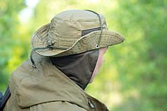"""Панама """"OUTDOOR"""" с защитой шеи, Olive, саржа 100% х\б, фото 3"""