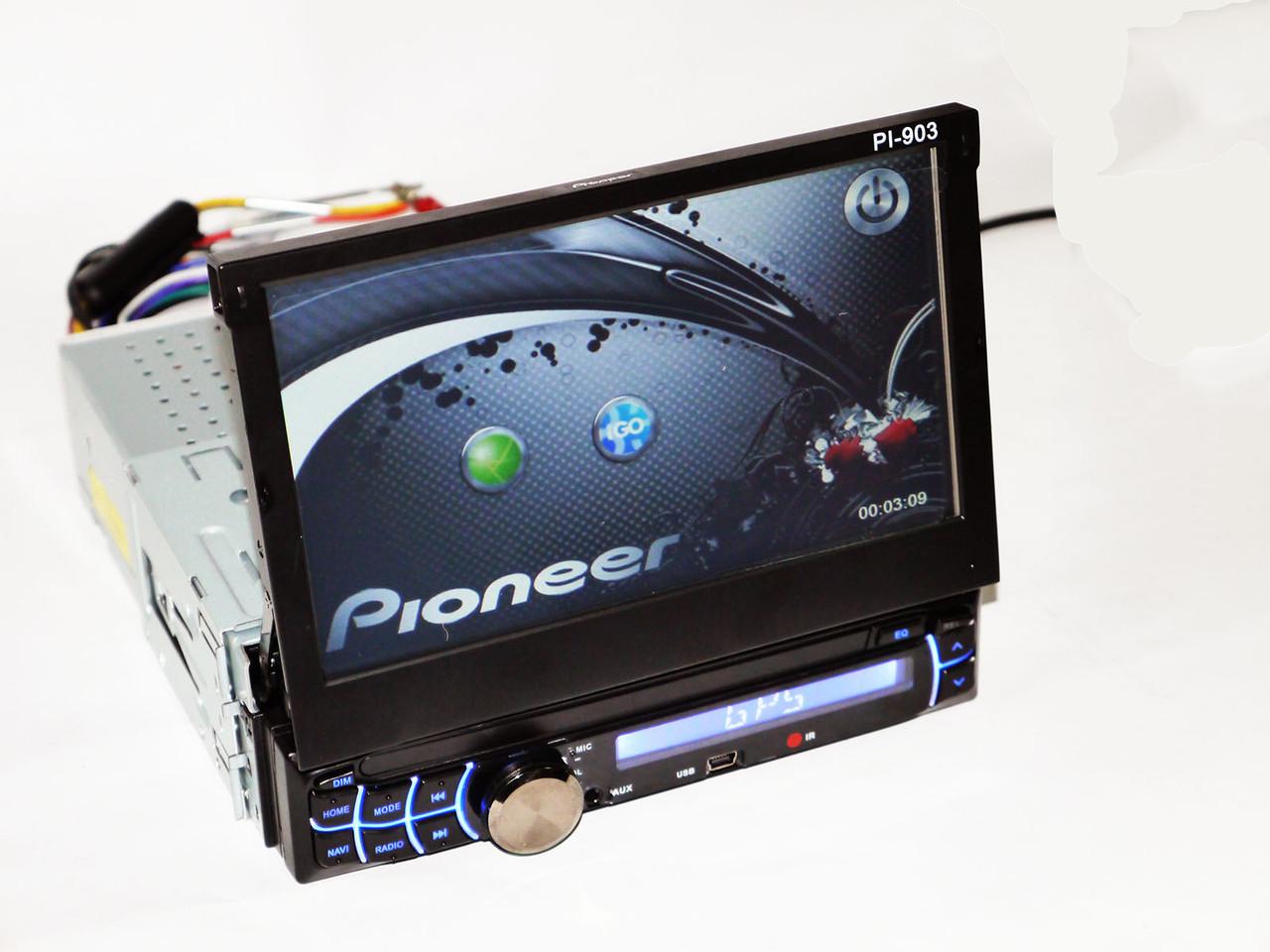 магнитола 2din pioneer pi-703 инструкция