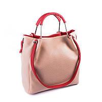 Стильная сумка с ручками-кольцами Камелия М131-65/68, фото 1