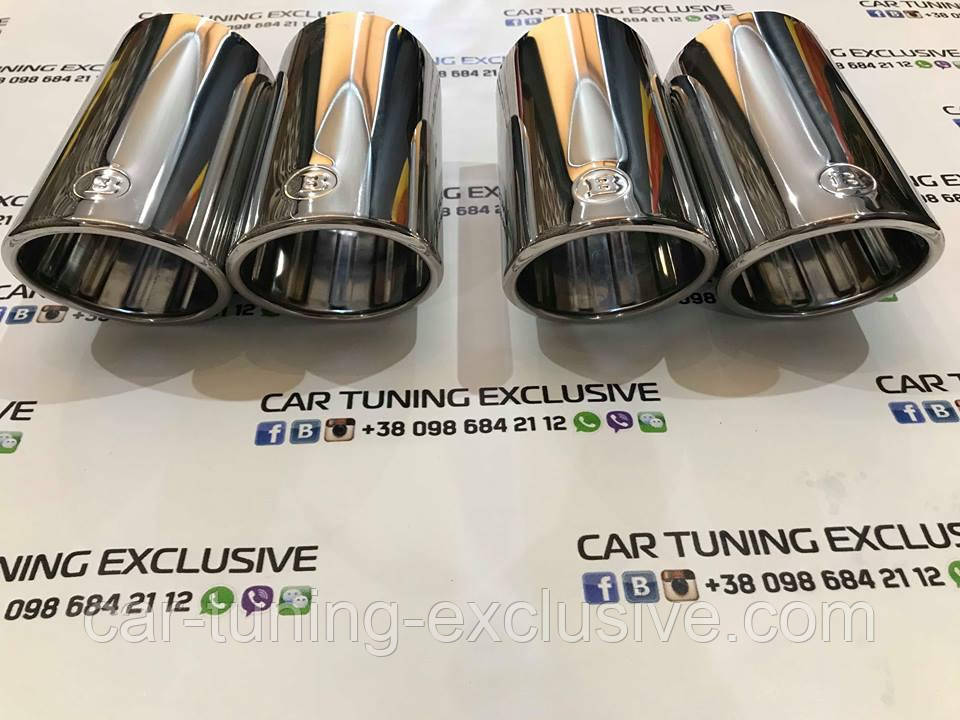 BRABUS sports exhaust pipes for Mercedes V-class W447