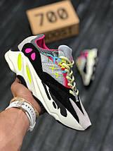 Мужские кроссовки Adidas Yeezy 700 (Рефлективные) / адидас / реплика (1:1 к оригиналу), фото 2