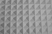 Акустический поролон Ecosound пирамида 30мм 1мх1м светло-серый,подвержен выцветанию, фото 1