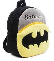 Детские плюшевые рюкзаки игрушки Бэтмен (Batman), фото 1