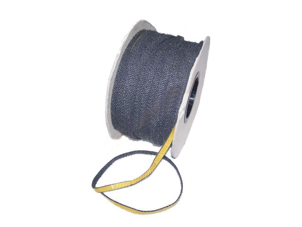 Термостойкий самоклеющийся уплотнитель 20х2 мм.