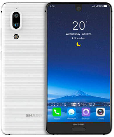 Смартфон ORIGINAL Sharp FS8010 Aquos S2 White (8Х2.2Ghz; 4Gb/64Gb; 12МР+8.0MP/8МР; 3020 mAh)
