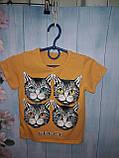 Футболка детская Cat 92-116 см, фото 4