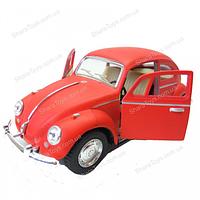 "Машинка Kinsmart 1967 Volkswagen Classical Beetle ""жук"" матовый, фото 1"