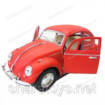 "Машинка Kinsmart 1967 Volkswagen Classical Beetle ""жук"" матовый"