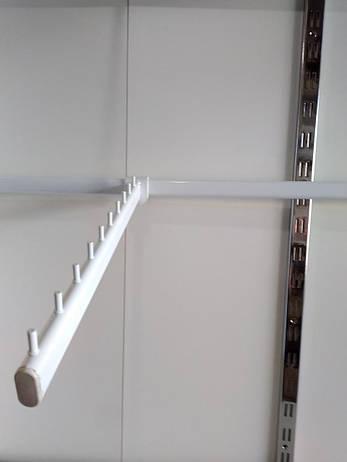 Перемычка(держатель кронштейна)  Белая. 60см., фото 2