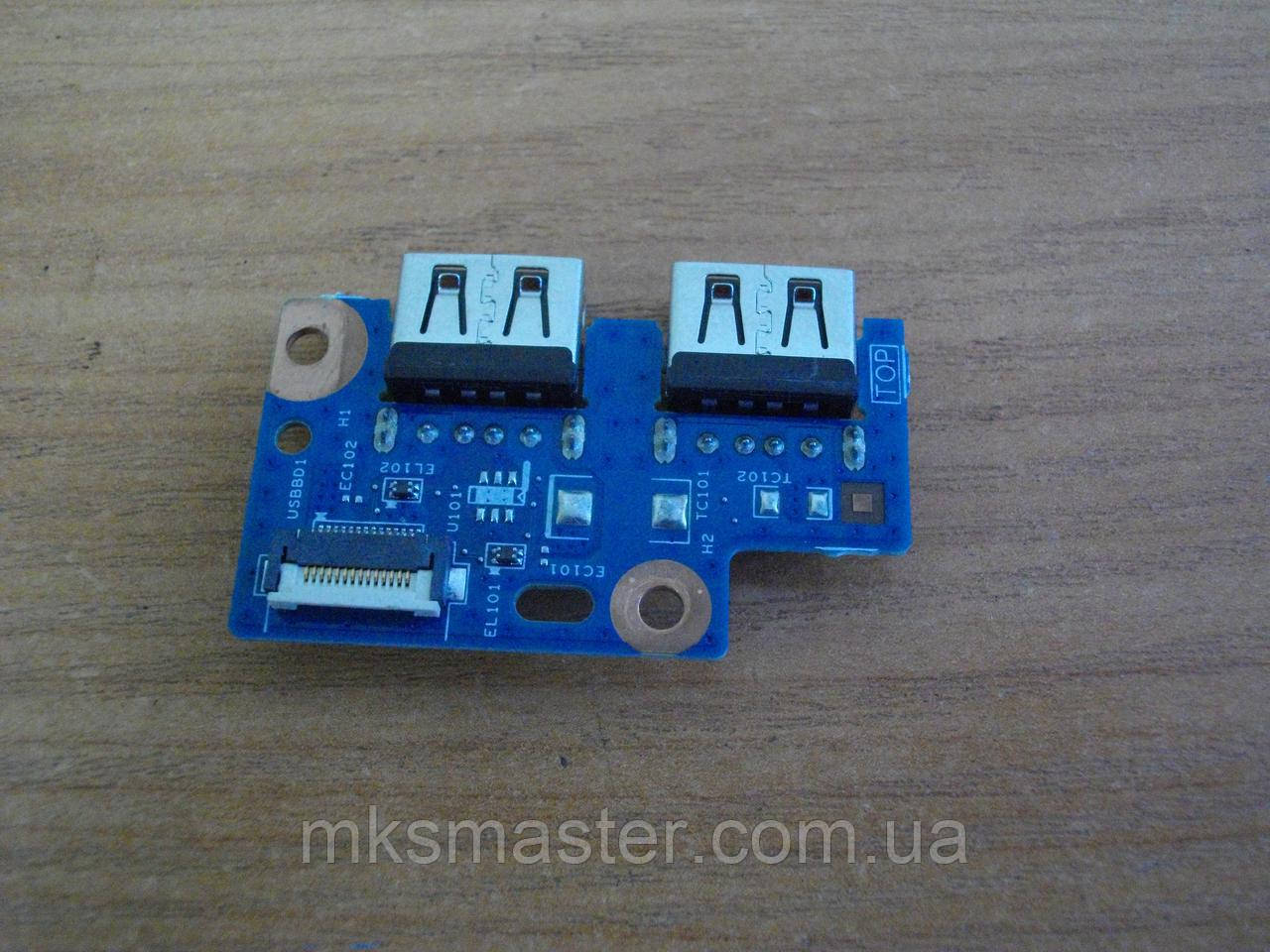Плата з портами USB Gateway MS2370, NE522, NE52224u.