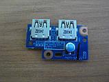 Плата з портами USB Gateway MS2370, NE522, NE52224u., фото 2