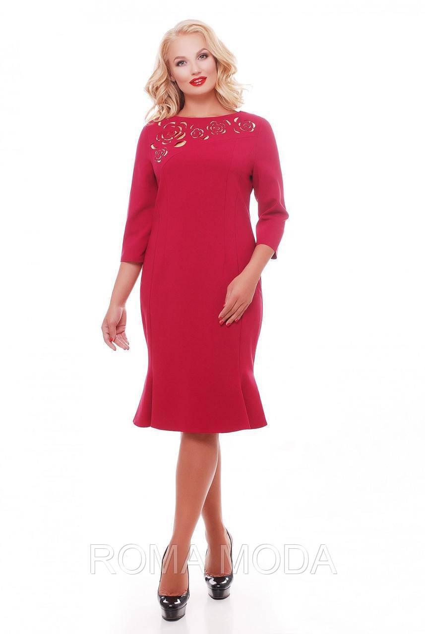 Нежное платье из тиара в 7ми  цветах VL Анюта