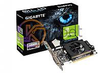 Видеокарта GeForce GT710, Gigabyte, 2Gb DDR3, 64-bit, VGA/DVI/HDMI, 954/1800MHz (GV-N710D3-2GL)