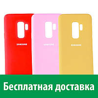 Чехол-бампер Silicone Cover для Samsung S9+, G960 (Самсунг С9 плюс)