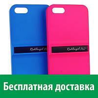 Чехол-подставка Red Angel Soft Touchдля iPhone 5/5s/SE (алюминий) (Айфон 5, 5с, 5 с, 5 се)