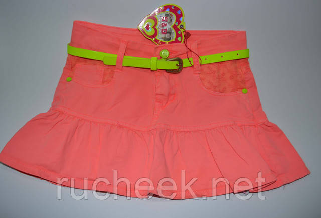 Яркие летние детские юбки недорого