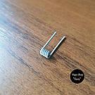 Готовые койлы, спирали, намотка для атомайзера. 0.45ohm Alien Coils., фото 2