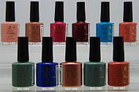 Гель-лак yre scl 10 ml, цветное покрытие №197-207, набор для гель лака