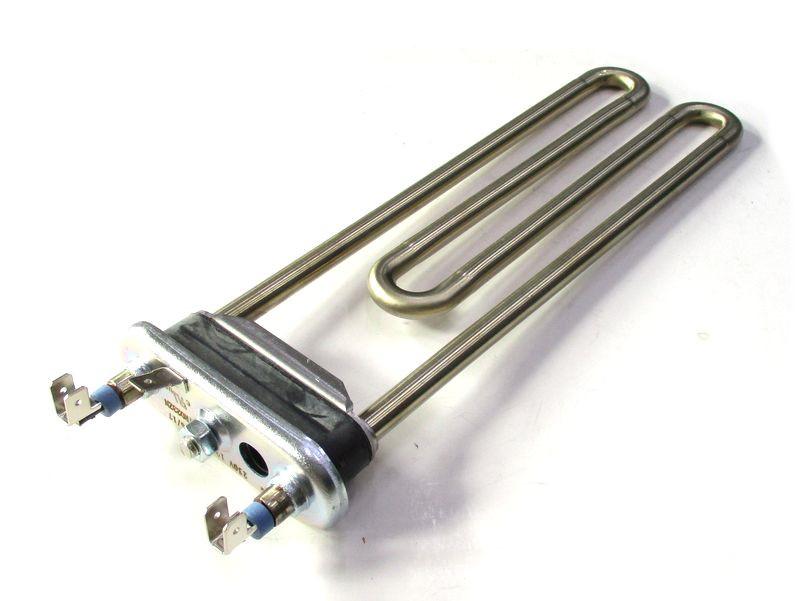 ТЭН 1950W 230мм  для стиральной машины Zanussi аналог код 132180710 с отверстием под датчик