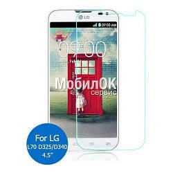 Ударопрочное защитное стекло (пленка) для LG D325 Optimus L70 Dual SIM