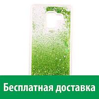 Чехол Жидкие Звезды для Samsung A8 (Самсунг А8, А8 2018, А530Ф)