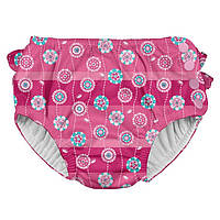 Трусики для плавания I Play -Hot Pink Stripe Flower, фото 1