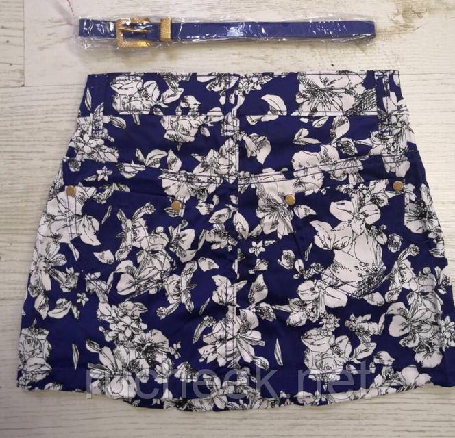 Модная короткая юбка для девочек  5-10 лет,  Венгрия Nice Wear 1539
