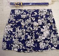 Модная короткая юбка для девочек  8, 10, 16 лет,  Венгрия Nice Wear 1554, фото 1