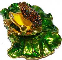 Шкатулка ювелирная лягушка