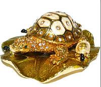 Шкатулка ювелирная черепаха