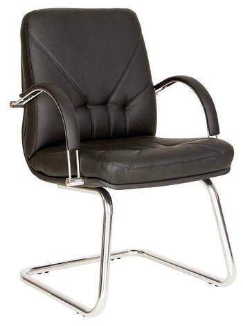 Кресло конференционное MANAGER steel CF LB chrome, фото 2