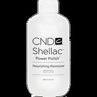 Жидкость для снятия лака Cnd Shellac Nourishing Remover Объём: 236 мл