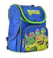 """Рюкзак каркасний """"1 Вересня"""" H-11 555120 Turtles, 33.5*26*13.5"""
