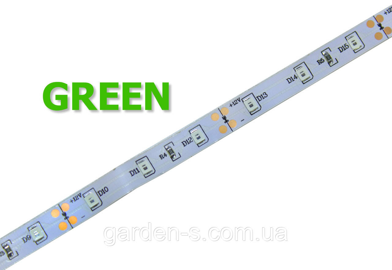 Светодиодная лента SMD2835 60d/m IP33 GREEN