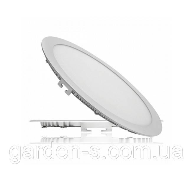 Светодиодный светильник врезной 24Вт, СW (6500К)