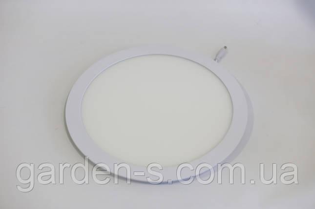 Светодиодный светильник врезной 24Вт, СW (6500К) , фото 2