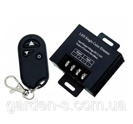 Диммер для LED ленты, RF пульт-брелок, 360W, фото 2