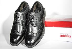 Шикарные кожаные мужские туфли-броги S&G, Оригинал