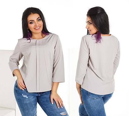 0d0be5d3f7d5 Элегантная женская блузка до больших размеров 1580